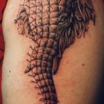tatuagem de elefante