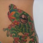 tatuagem de sapo