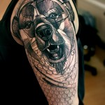 tatuagem de urso