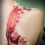 Veja algumas sugestões de tatuagens com a técnica de aquarela
