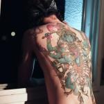 tatuagens nas costas