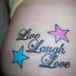 tatuagens femininas escritas