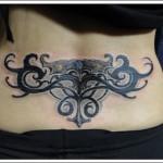tatuagens femininas tribais