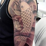 tatuagens masculinas carpas