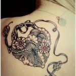 tatuagem de chave