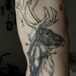 tatuagens na costela